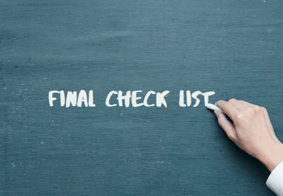 final-check-list