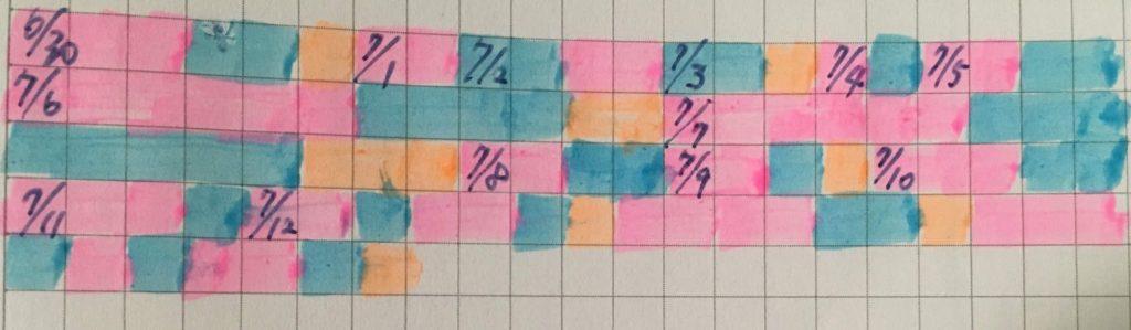 colored-graph-paper