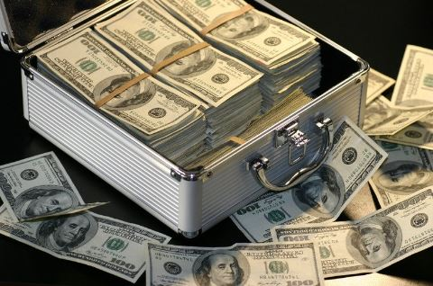 dollars-in-attache-case