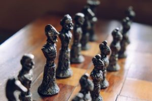 chess-pieces-on-a-chess-board